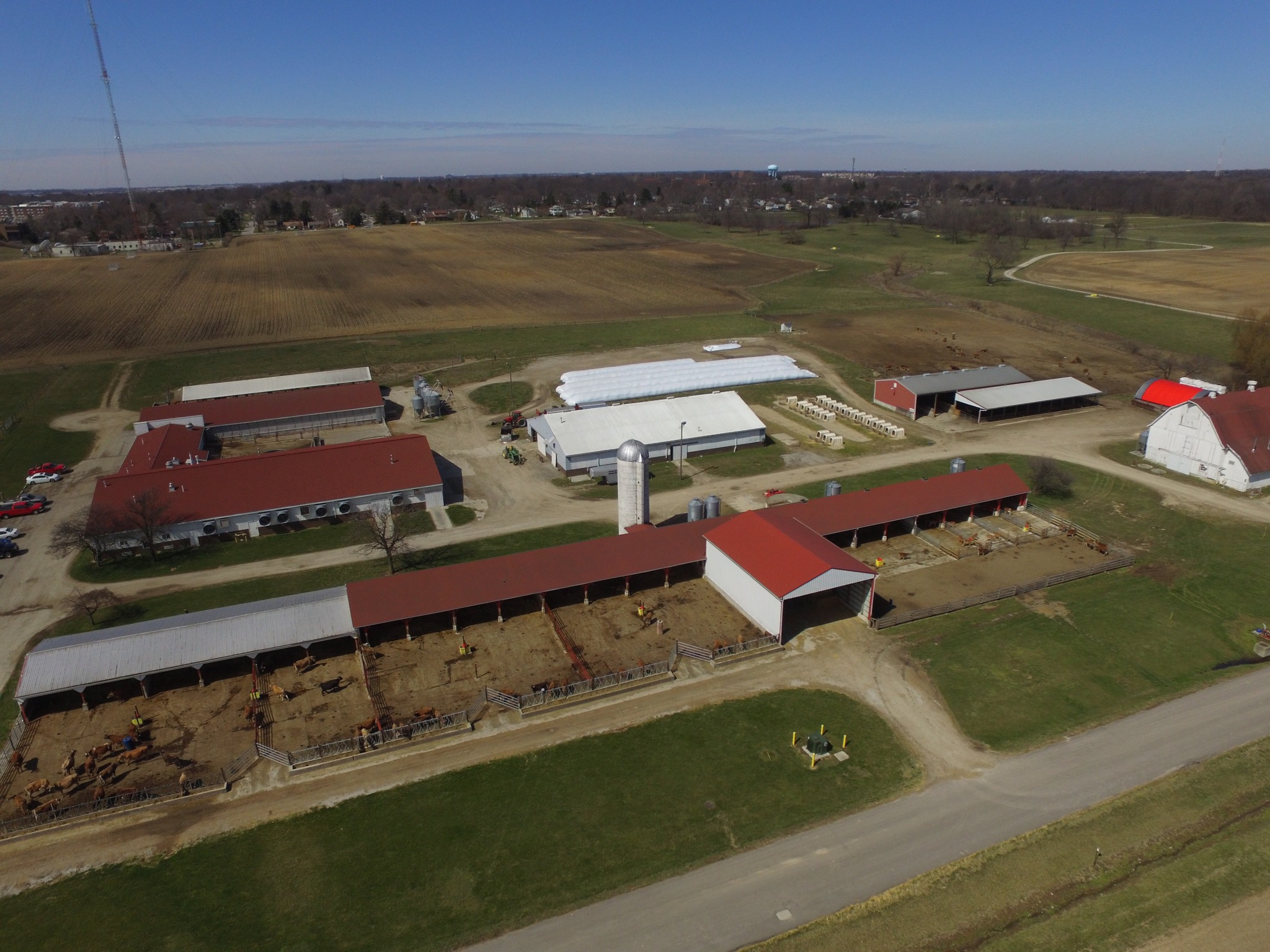 Waterman Dairy Facility Aerial View #2